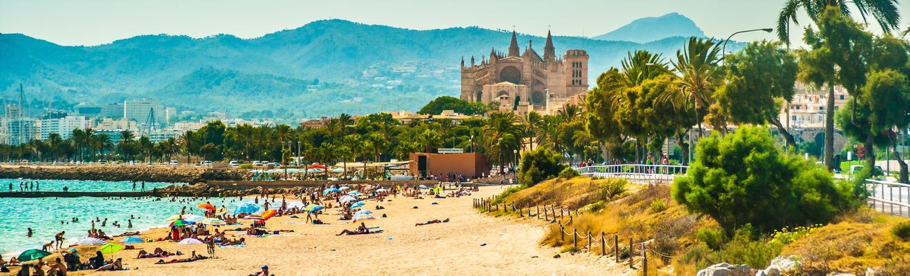Palma de Mallorca - Beach, Urban, Historic