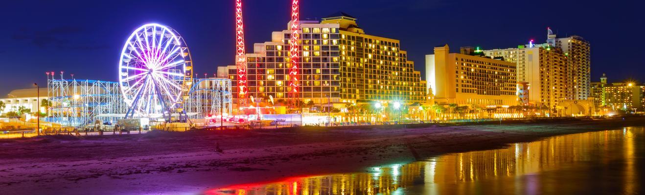 Daytona Beach - Beach, Romantic, Shopping, Eco, Nightlife