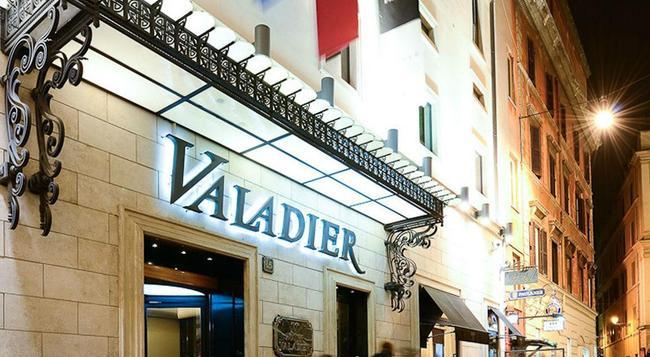 Valadier Hotel - Rome - Building
