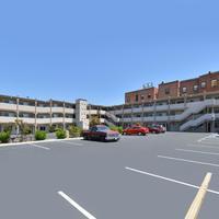 Americas Best Value Inn - Oakland / Lake Merritt Exterior-Parking Lot