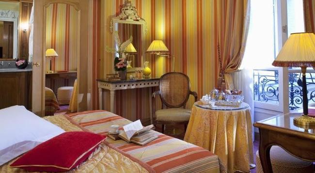 Hotel Chambiges Elysées - Paris - Bedroom