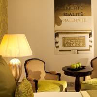 Hotel Le Petit Paris chambre detail