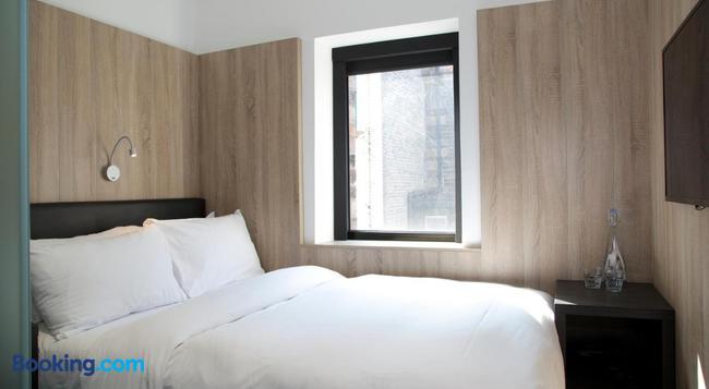The Z Hotel Glasgow - Glasgow - Bedroom