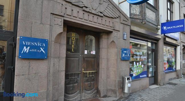 Hotel Multilux - Riga - Building