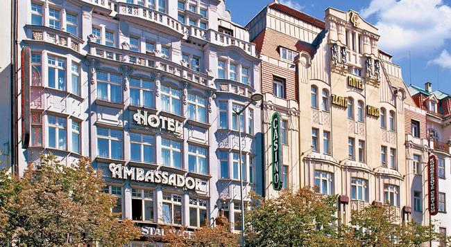 Hotel Ambassador-Zlata Husa - Prague - Building