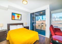 Ginosi Figaro Apartel - Los Angeles - Kamar Tidur