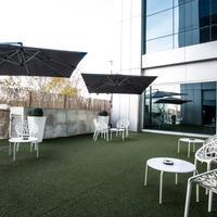 Hotel Nuevo Madrid Terrace/Patio