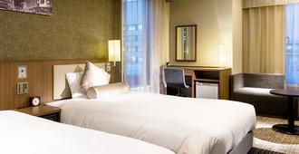 Hotel Unizo Tokyo Ginza-itchome - Tokyo - Kamar Tidur