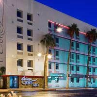 El Cortez Hotel & Casino Hotel Front - Evening/Night