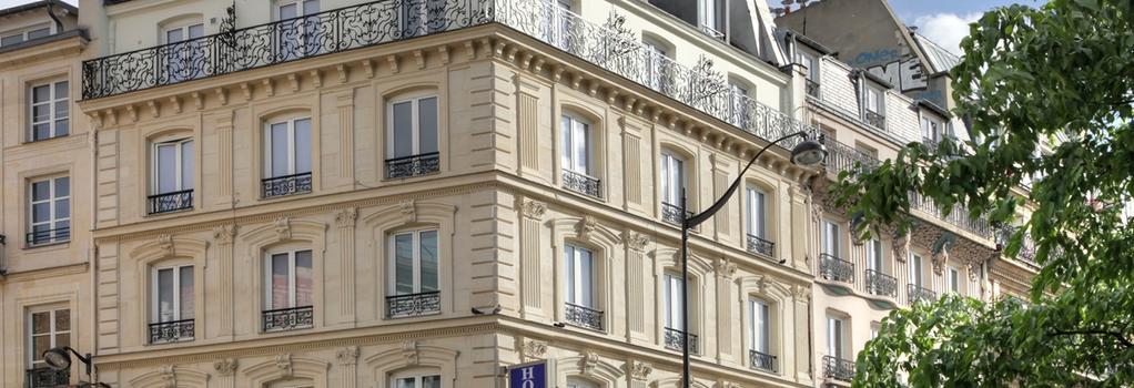 Contact Hotel Alize Montmartre - Paris - Building
