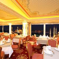 Deluxe Golden Horn Sultanahmet Hotel Breakfast Area