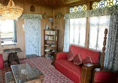 Houseboat Zaindari Palace - Srinagar (Jammu and Kashmir) - Lobi