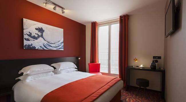 Hôtel Helussi - Paris - Bedroom