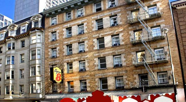 Super 8 San Francisco/Union Square Area - San Francisco - Building