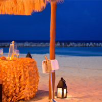 Krystal Grand Punta Cancun Outdoor Dining