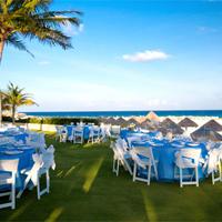 Krystal Grand Punta Cancun Outdoor Banquet Area