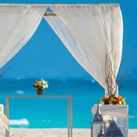 Krystal Grand Punta Cancun Outdoor Wedding Area