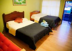 Blue House Youth Hostel - Quito - Kamar Tidur