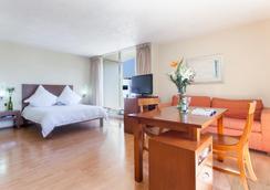 Exe Suites San Marino - Kota Meksiko - Kamar Tidur