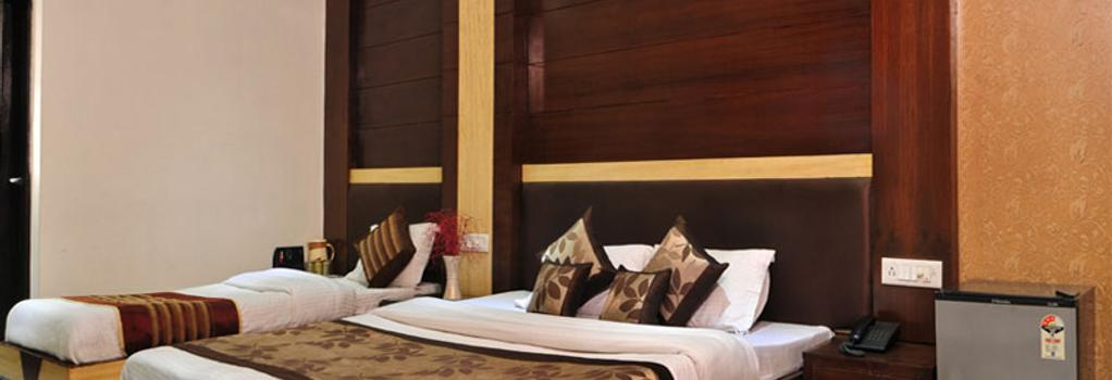 Hotel Delhi Heart - New Delhi - Bedroom