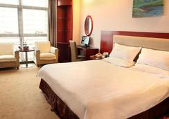 Green Tree Inn Hefei Jinding Square Hotel - Hefei - Kamar Tidur