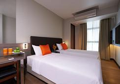 Aqueen Jalan Besar Hotel - Singapura - Kamar Tidur