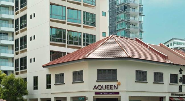 Aqueen Jalan Besar Hotel - Singapore - Building