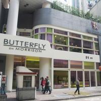 Butterfly on Morrison Hotel Entrance