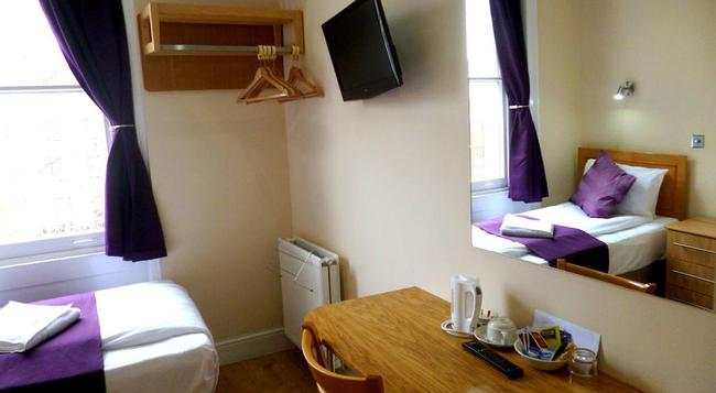 Cardiff Hotel - London - Bedroom