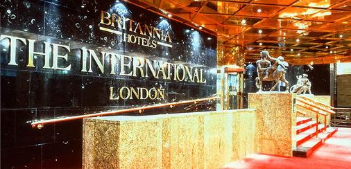 Britannia The International Hotel London, Canary Wharf - London - Resepsionis