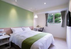 Green Hotel - Kota Taichung - Kamar Tidur