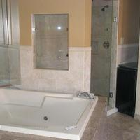 Miami Princess Hotel One of our Newly Renovated Jacuzzi Rooms with a Stand-in Rain Shower.