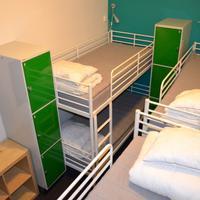 Interhostel 1 bed in 6 bed mixed dorm-shared bath