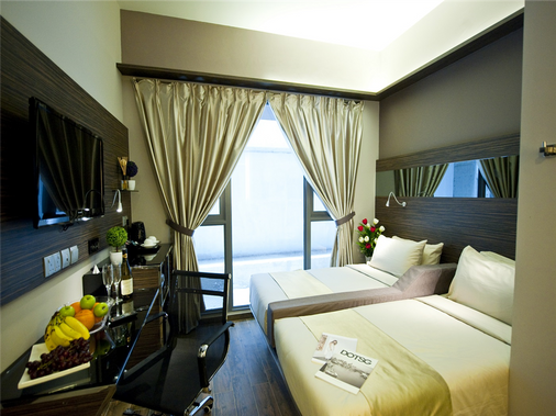 Parc Sovereign Hotel - Tyrwhitt - Singapura - Kamar Tidur