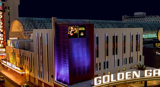 Golden Gate Hotel and Casino - Las Vegas - Building