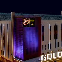 Golden Gate Hotel and Casino Hotel Front - Evening/Night