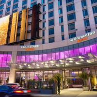 Courtyard by Marriott Los Angeles L.A. LIVE Hotel Entrance