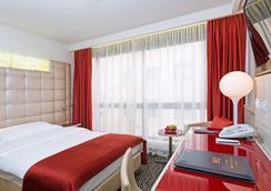 St Gotthard Hotel - Zurich - Kamar Tidur