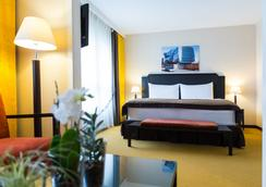 Hotel Euler - Basel - Kamar Tidur