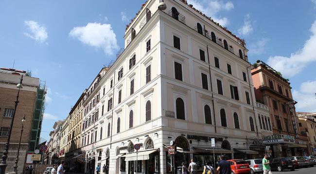 Impero Hotel - Rome - Building