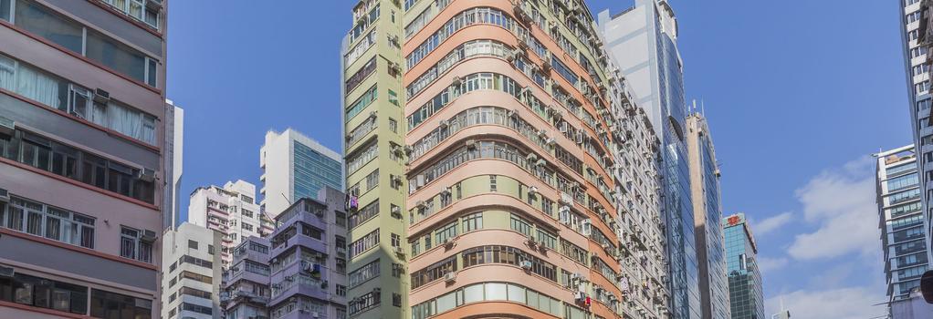 Check Inn Hk - Hostel - Hong Kong - Building