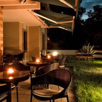 Ecohotel Outdoor Dining
