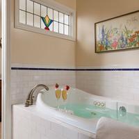 Cornerstone Bed & Breakfast Deep Soaking Bathtub