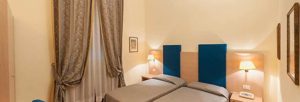 Hotel Medici - Rome - Bedroom