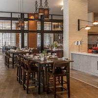 Hyatt Regency Houston Galleria Breakfast Area