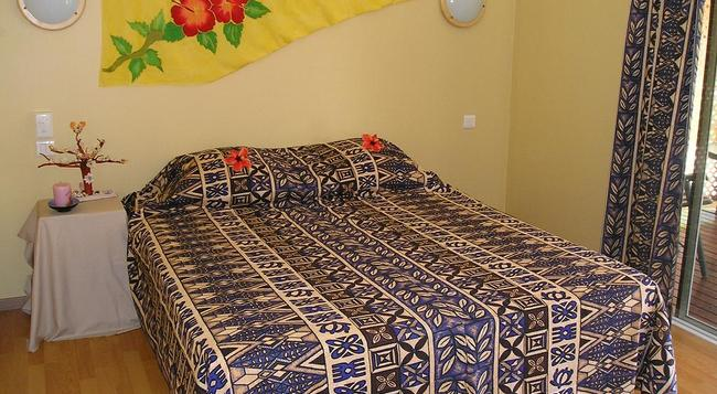 Pension Bounty - Rangiroa - Bedroom