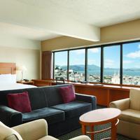 Hilton San Francisco Financial District Living Area
