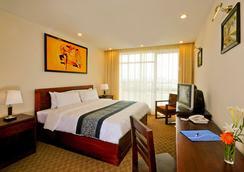 Vientiane Plaza Hotel - Vientiane - Kamar Tidur