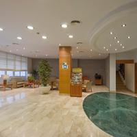 Hotel Abelux Interior Entrance