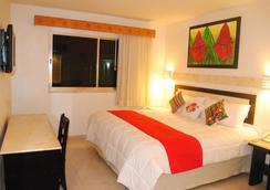 Hotel Tulijá Express Palenque - Palenque - Kamar Tidur